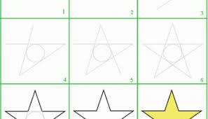 Come disegnare una stella